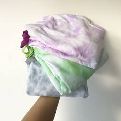 New color on tiedye active set : lilac, lime, grey